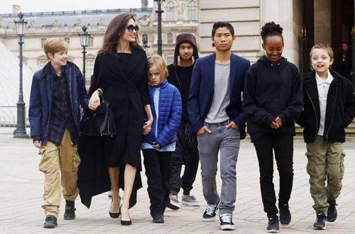 Анджелина Джоли воспитывает в детях бережливость, покупая им одежду в секонд-хенде