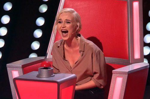 """Полина Гагарина предложила поменять """"беременное"""" кресло наставниц шоу """"Голос"""""""