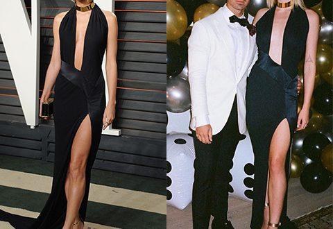 Софи Тернер повторила образ бывшей девушки своего мужа на его вечеринке