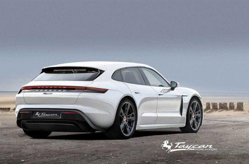 В электромобиле Porsche Taycan появится поддержка Apple Music