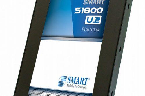 SMART Modular представила три SSD, включая модель S1800 форм-фактора U.2