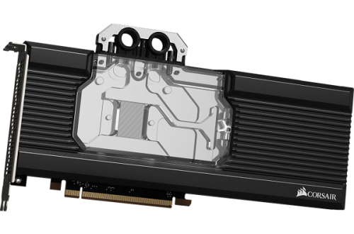 Водоблок Corsair XG7 серии Hydro X предназначен для 3D-карт AMD Radeon RX 5700 и 5700 XT