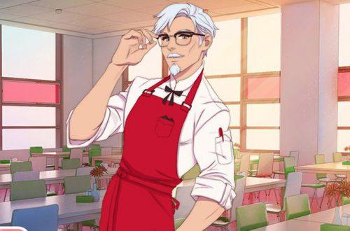 KFC анонсировала симулятор свиданий с полковником Сандерсом