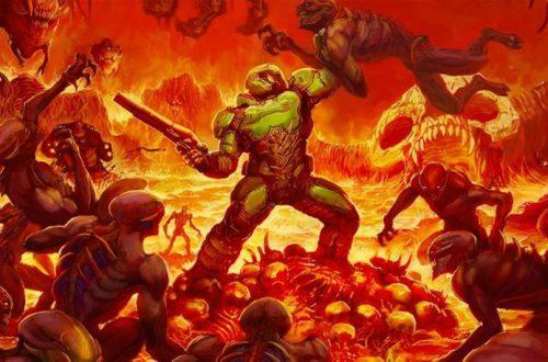 Bethesda выпустит чехол и контроллер для Nintendo Switch в честь 25-летия Doom