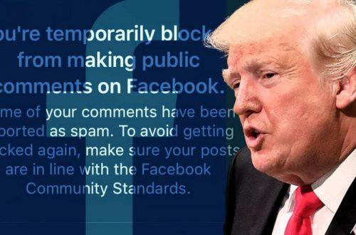 Facebook не будет банить посты политиков