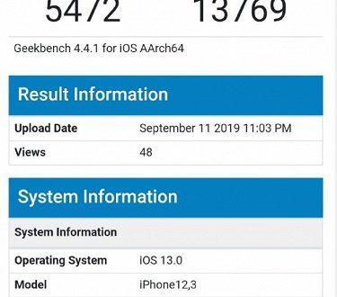 Флагманы на Kirin 980 и Snapdragon 855 Plus могут только позавидовать: iPhone 11 установил рекорд производительности в Geekbench