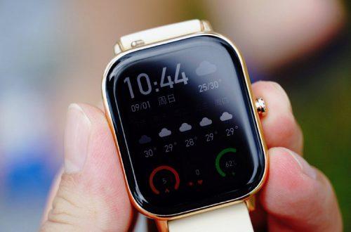 Доступный клон Apple Watch. Умные часы Huami Amazfit GTS красуются на реальных фото
