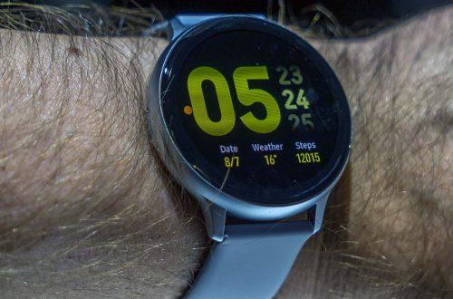 В часах Samsung Galaxy Watch Active 2 из коробки отключена основная новая функция
