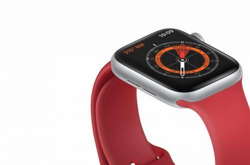 Предупреждение мелким шрифтом. Ремешки с магнитами могут создавать помехи для приложения Compass в часах Apple Watch Series 5