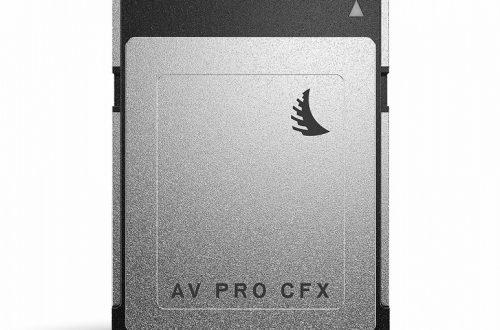Скорость записи 1400 МБ/с и объем до 1 ТБ, но это не SSD. Представлены карты памяти Angelbird CFexpress
