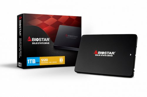 Biostar выпускает твердотельные накопители серии S120