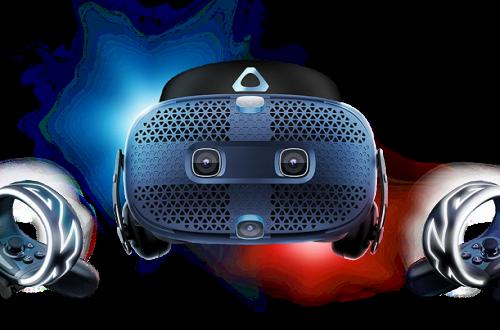 Космический запуск в России. Открыт приём заказов на шлем виртуальной реальности HTC Vive Cosmos