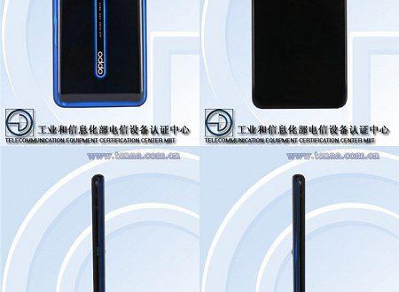 Oppo Reno 2 5G с 20-кратным зумом замечен в Сети