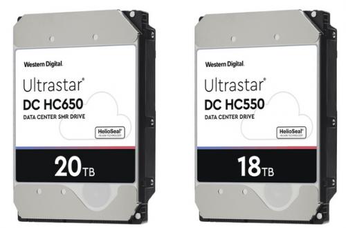 До конца года Western Digital начнёт поставки HDD объёмом 20 ТБ