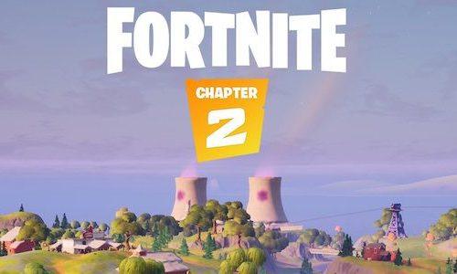Раскрыта новая карта Fortnite из 2 главы