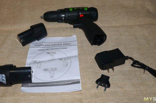 2-х скоростной аккумуляторный шуруповерт