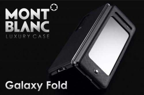 Покупатели Samsung Galaxy Fold 5G получат премиальный чехол Montblanc