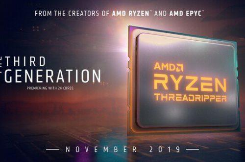 Стала известна возможная схема наименования процессоров AMD Ryzen Threadripper третьего поколения