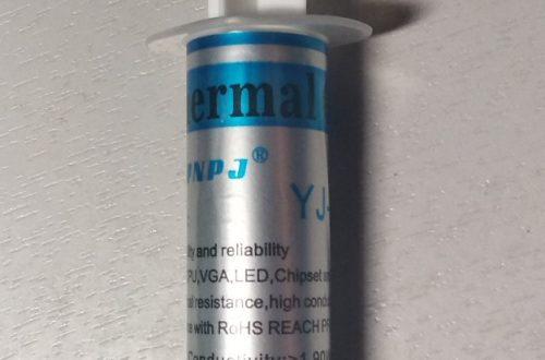 Тестирование термопасты YJ-G190. Тоска.