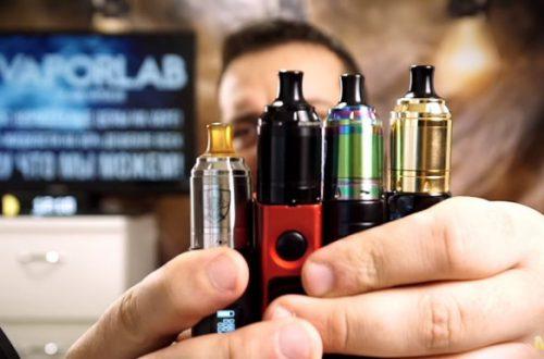 Бак для электронной сигареты Berserker Mini MTL RTA 22 mm | сигаретный, маленький, вкусный.