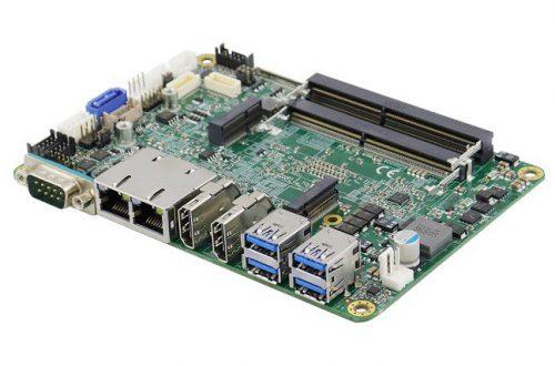 Основой миниатюрного встраиваемого компьютера IB918 служит SoC AMD Ryzen Embedded V1000/R1000