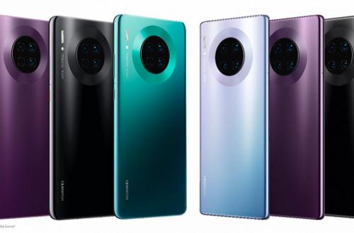 Huawei Mate 30 выходит в двух новых версиях