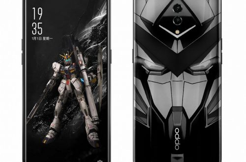 65-ваттный смартфон Oppo понравится поклонникам боевых роботов