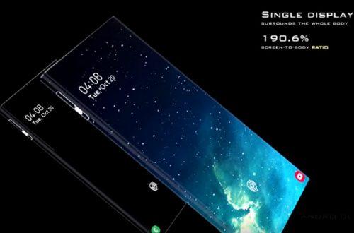 Samsung Galaxy Alpha Pro почти полностью копирует Xiaomi Mi Mix Alpha