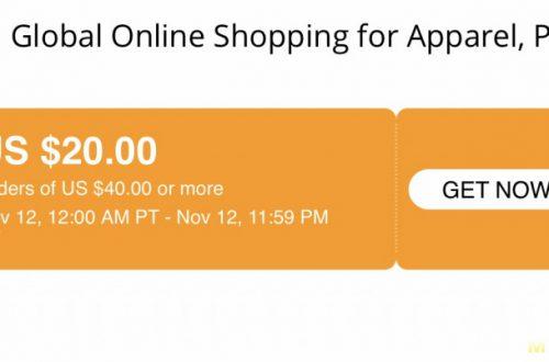 Купон на $20 от $40 на всё в Baseus Official Store