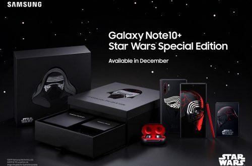 Представлен смартфон Samsung Galaxy Note10+ Star Wars