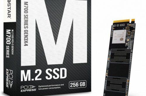 Твердотельные накопители Biostar M700 оснащены интерфейсом PCIe 3.0 x4