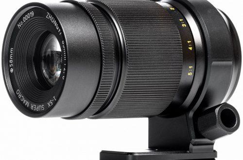 Объектив Mitakon Creator 85mm f/2.8 1-5X Super Macro оценен в 499 долларов