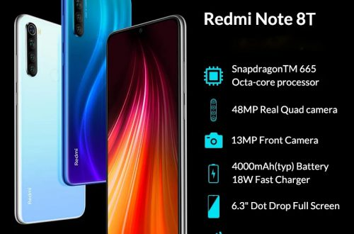 Смартфон Redmi Note 8T 4+64GB NFC/Global. Цена 167$ c промокодом