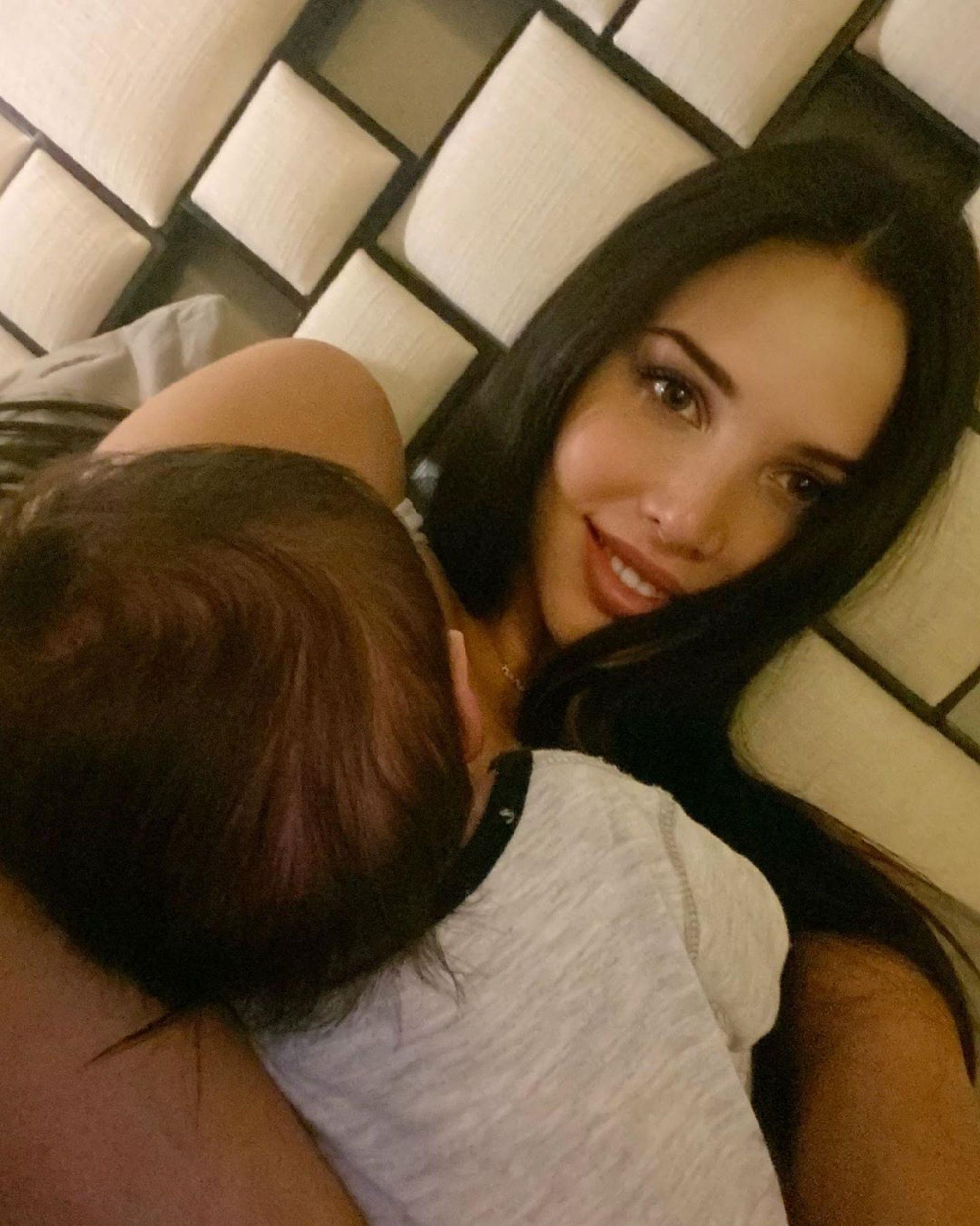Анастасия Решетова случайно показала лицо сына