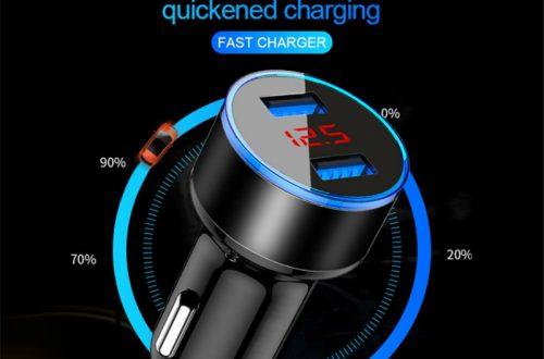 Зарядное устройство Lovebay 3.1A в порт прикуривателя авто за US $1.49