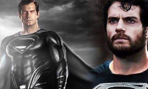 Снайдер показал Супермена в черном из «Лиги справедливости»
