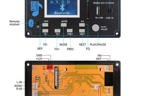 Снижение цены на адио Bluetooth MP3 модуль с переходом по папкам