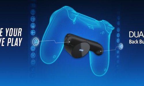 DualShock 4 получил дополнительные кнопки с Back Button Attachment