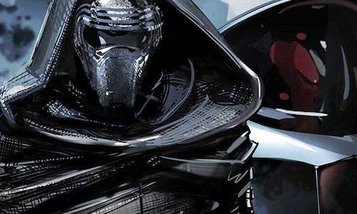 Шлем Дарта Вейдера на новом постере «Звездных войн 9»
