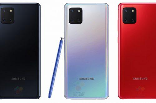 Идеальный смартфон Samsung? Galaxy Note10 Lite показался во всей красе