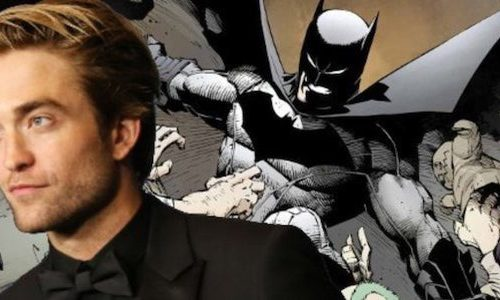 Роберт Паттинсон примерил костюм Бэтмена для фильма