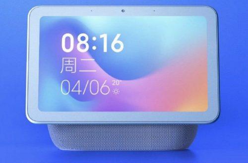 Умная колонка с 8-дюймовым экраном Xiaomi поступает в продажу