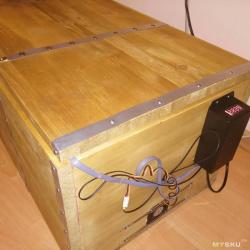 MeatBox - термостат для вяления мяса (сушки фруктов, грибов и т.д.)