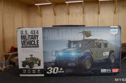 Военный Humvee HG P408 - Кабанчик!