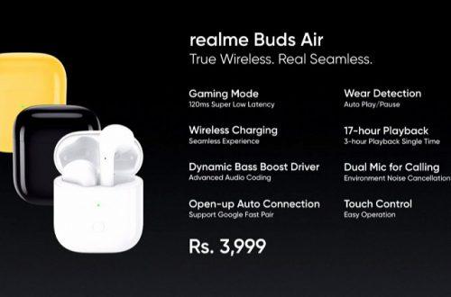 Богатая функциональность при неожиданно низкой цене. Представлены беспроводные наушники Realme Buds Air
