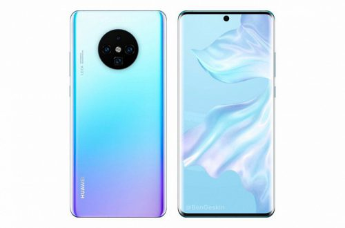 Huawei уличили в использовании неофициального рендера Huawei Mate 30 Pro