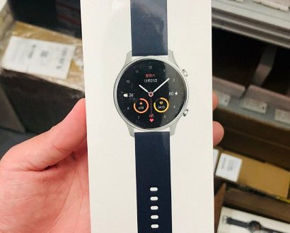 Так выглядят умные часы Xiaomi Mi Watch Color. Характеристики тоже раскрыты