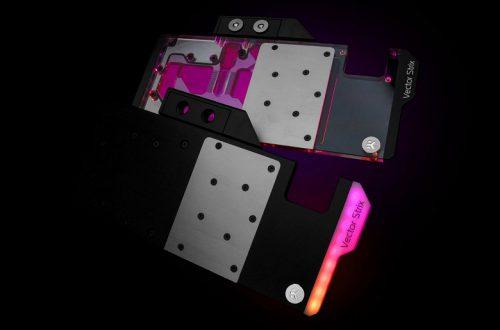 Водоблок EK-Quantum Vector Strix RX 5700 +XT D-RGB украшен адресуемой подсветкой