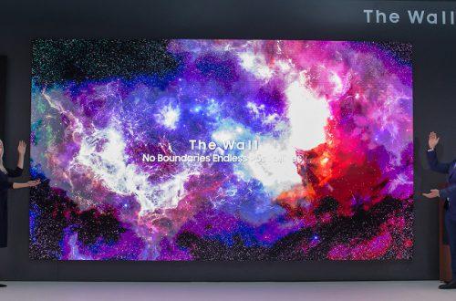 Samsung создала первый телевизор с нулевой рамкой экрана