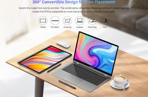 Недорогой ноутбук 2-в-1 Teclast F6 Plus получил достойные характеристики